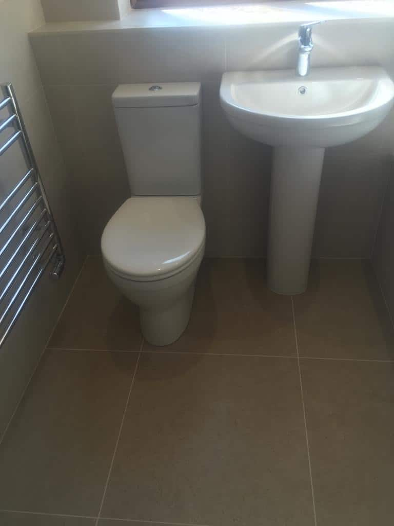Bathroom and shower re-model near Northampton after 1
