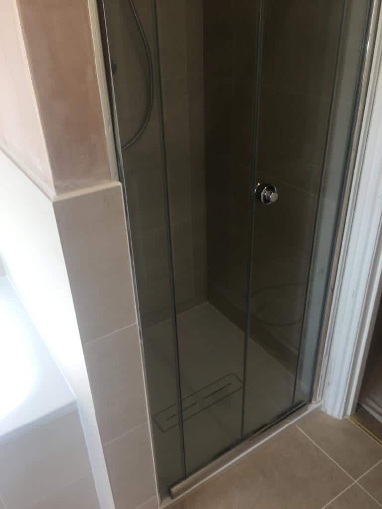 Bathroom and shower re-model near Northampton after 3