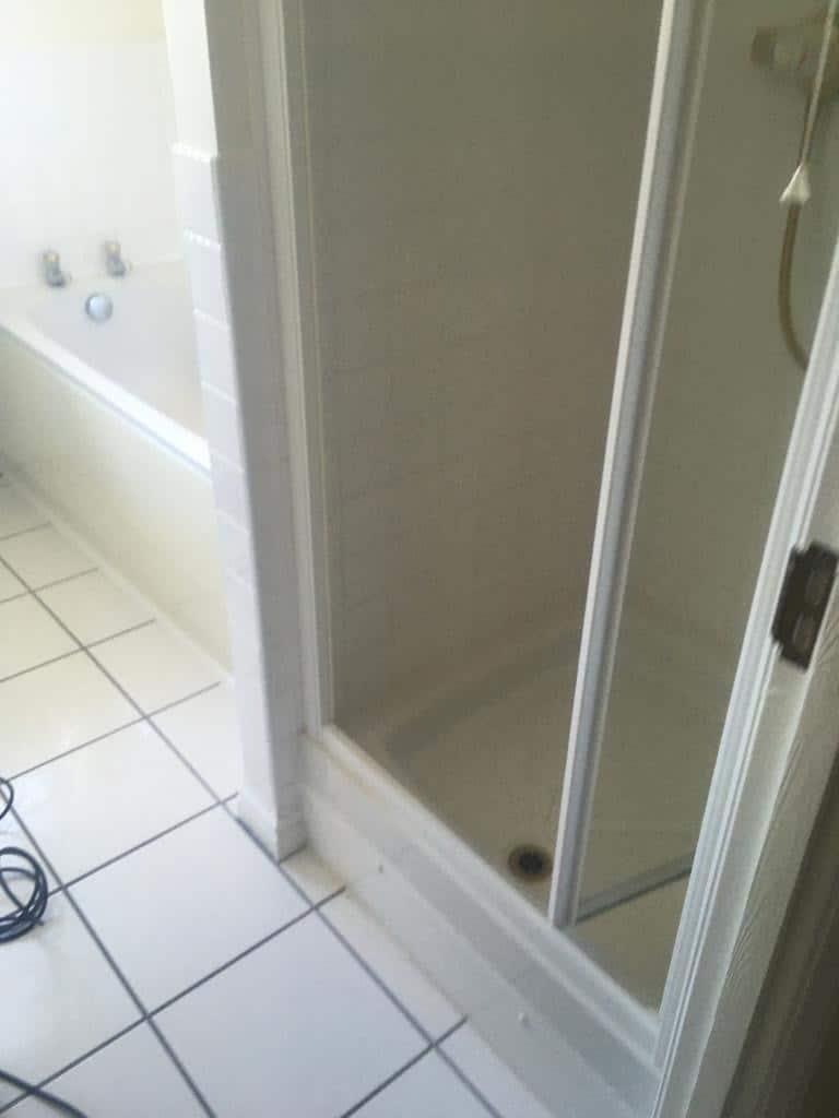Bathroom and shower re-model near Northampton before 1