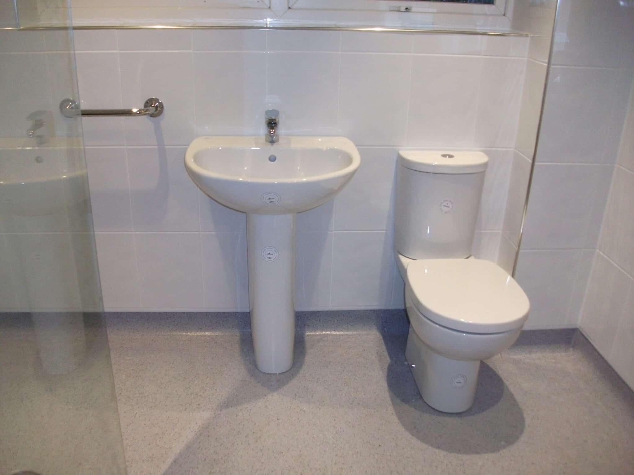 Bathroom conversion to wetroom, level access, Brixworth 2
