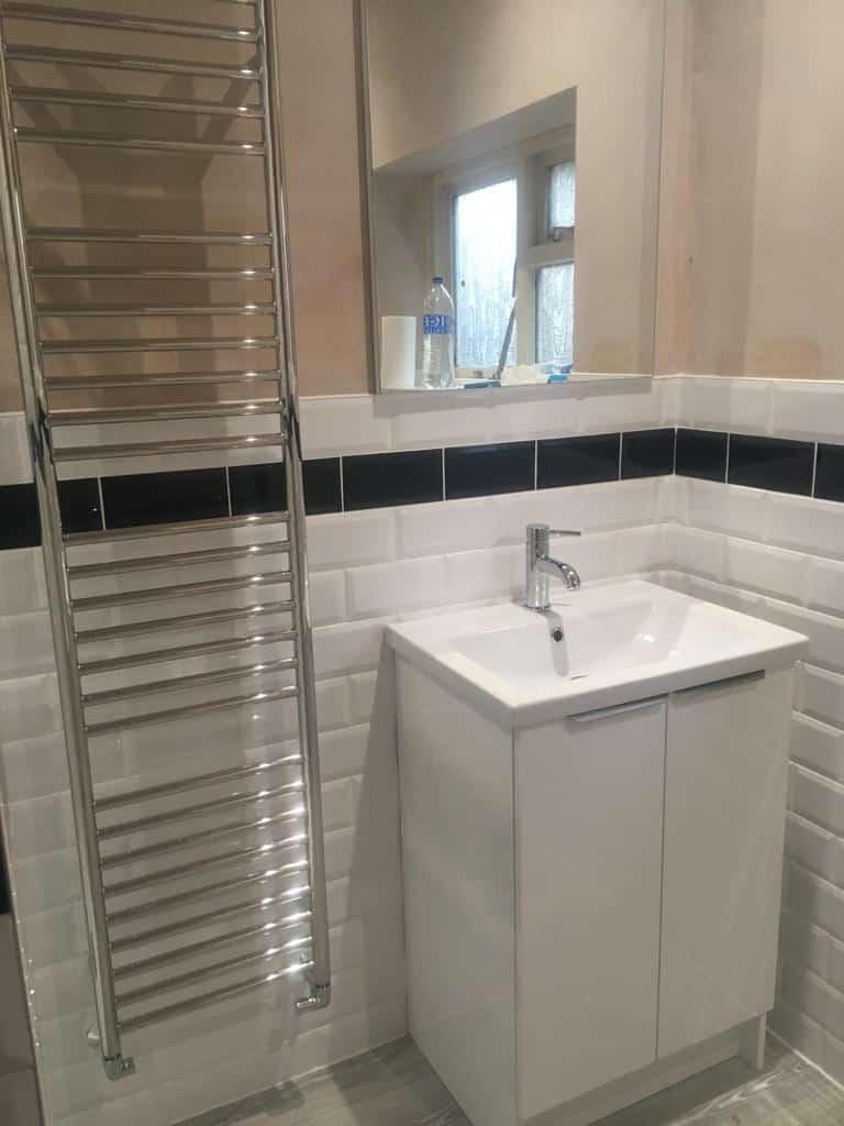 Bathroom redesign near Milton Keynes after 3
