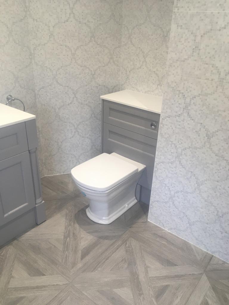 En suite wet room remodel Brixworth near Northampton after 4