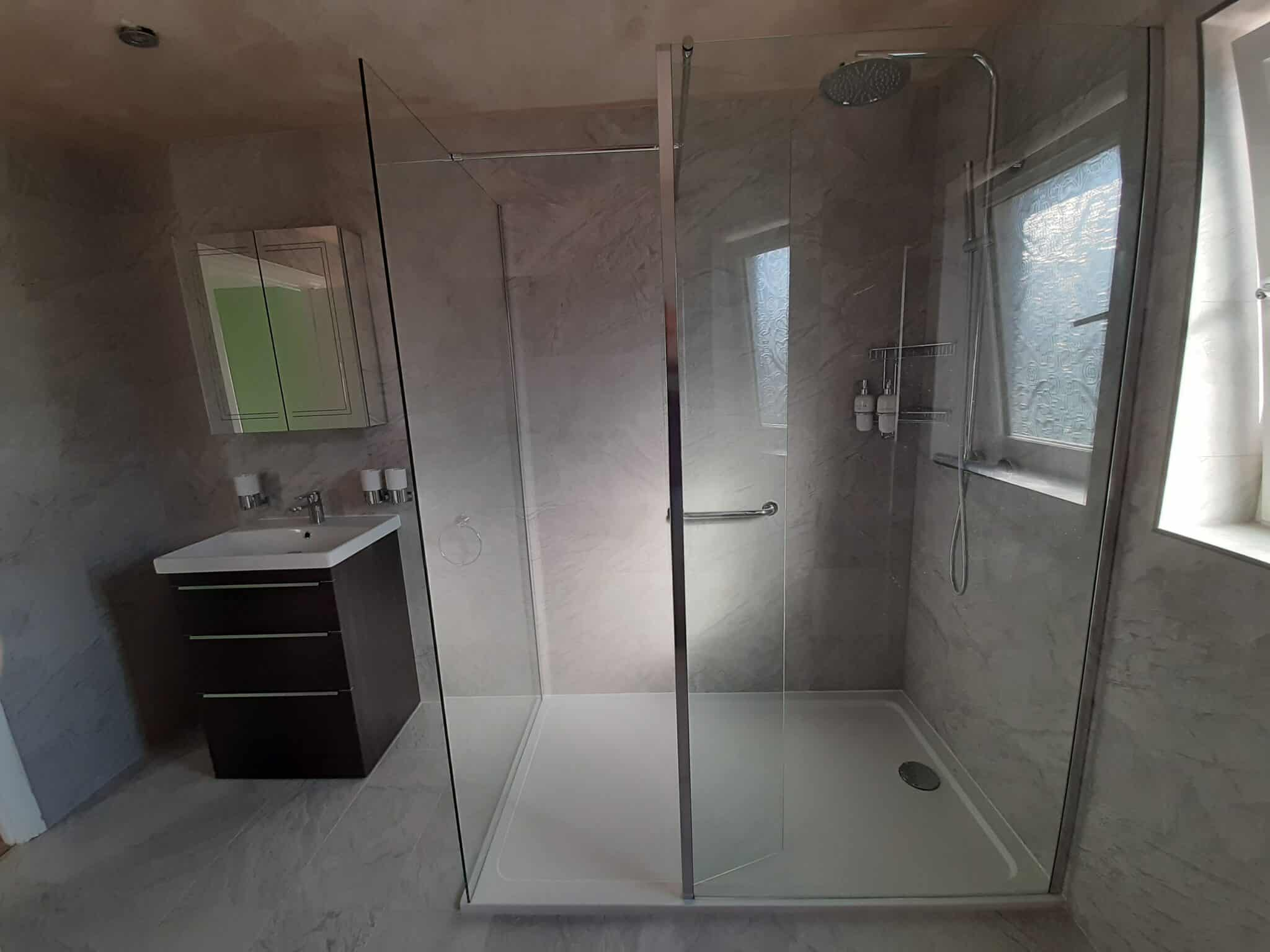 Moulton Northampton ensuite & small bathroom converted to large room 2