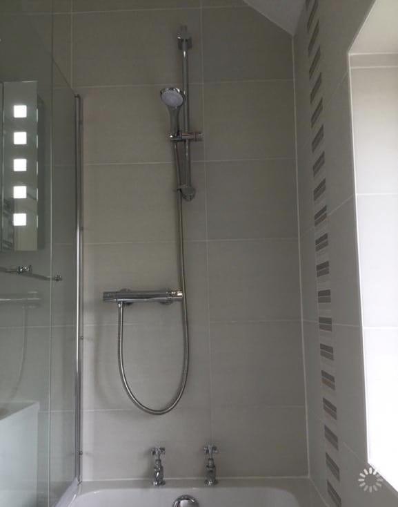 Seperate toilet and bathroom converted into large bathroom, between Bedford & Milton Keynes 3