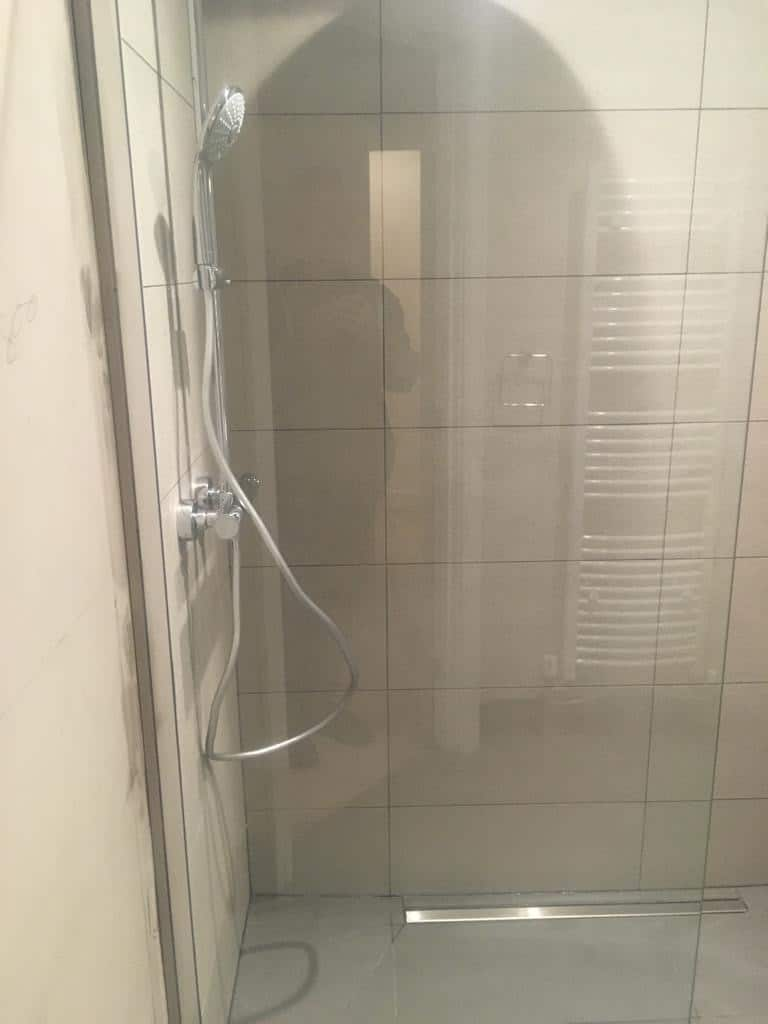 Wet room re-model near Hitchin, Hertfordshire after 1