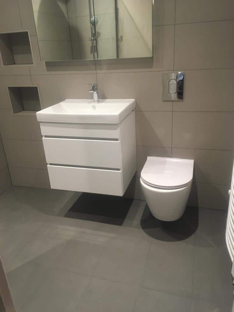 Wet room re-model near Hitchin, Hertfordshire after 3