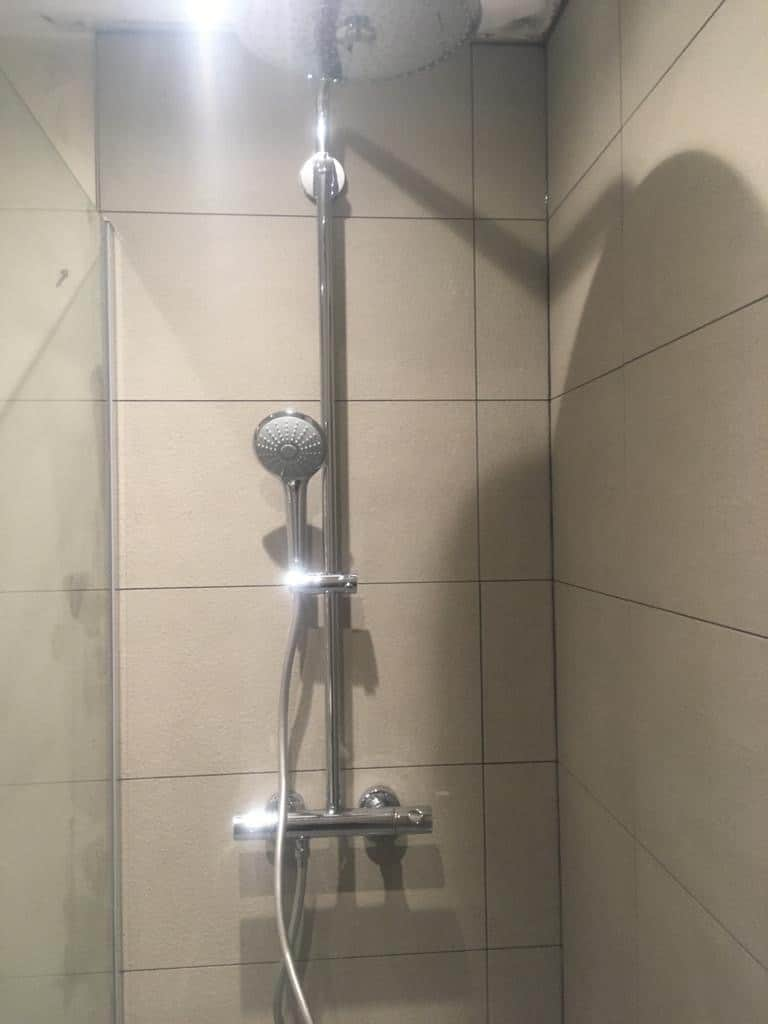 Wet room re-model near Hitchin, Hertfordshire after 5