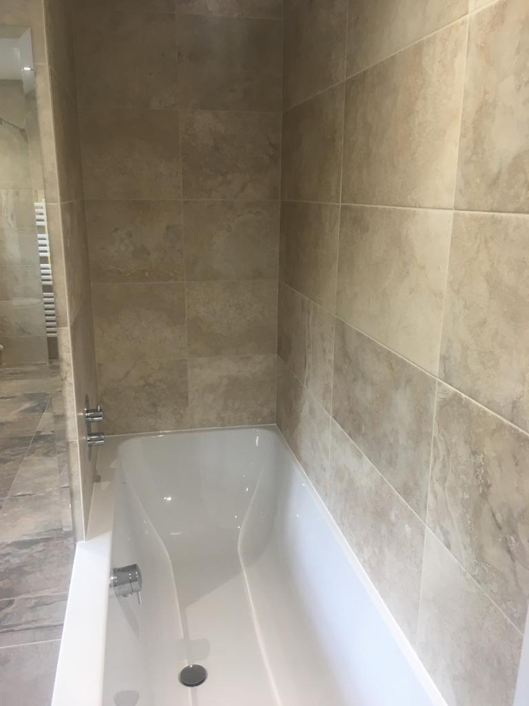 Wetroom bathroom re-design, Brixworth near Northampton after 1