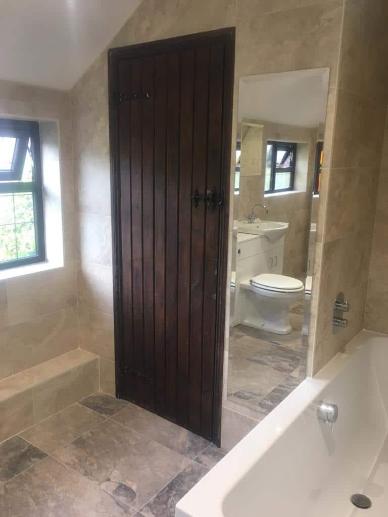 Wetroom bathroom re-design, Brixworth near Northampton after 2